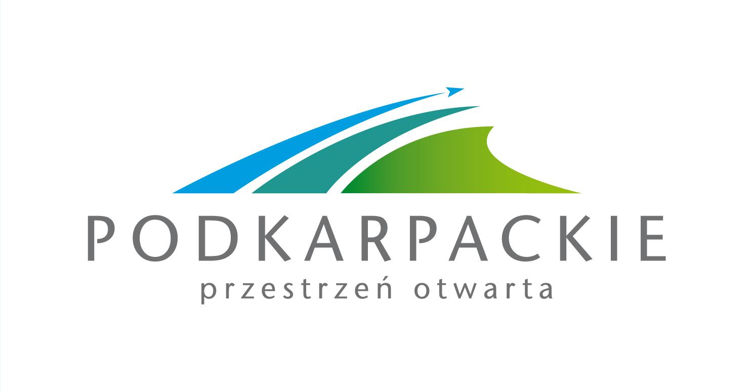 logo podkarpackie - przestrzeń otwarta